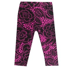 Legging court 3/4 enfant motif 8