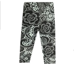 Legging court 3/4 enfant motif 9