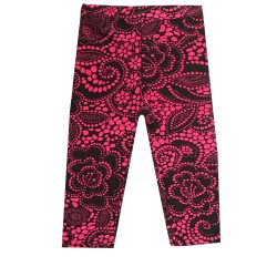 Legging court 3/4 enfant motif 10