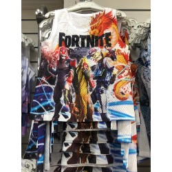 Fortnite - Debardeur garçon integral sublimation du 4 ans au 14 ans