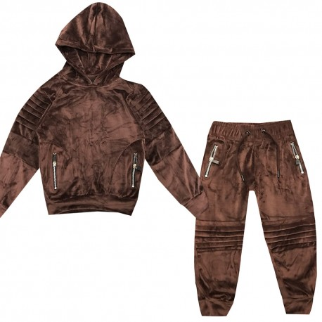 Jogging enfant en velours - BE17008