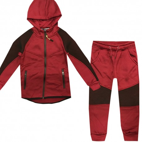 Jogging enfant sport integralement zippé - BL10-3