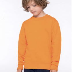 Sweat-shirt col rond enfant Kariban