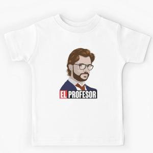 T-shirt 100% coton enfant blanc - El professor