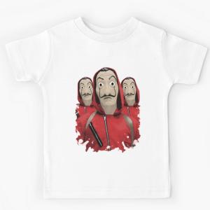 T-shirt 100% coton enfant blanc - CASA