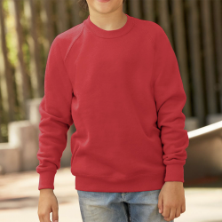 SWEAT-SHIRT ENFANT MANCHES RAGLAN