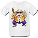 T-shirt blanc Enfant manga japan tortue geniale victoire V
