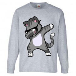 T-shirt garçon ML -Chat dab