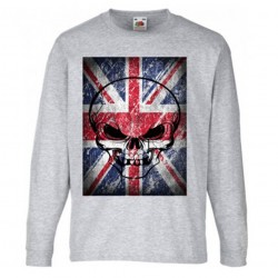 T-shirt garçon ML - BRITISH FLAG
