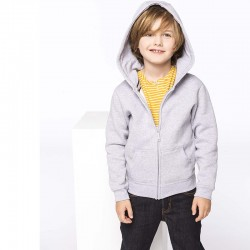 SWEAT-SHIRT CAPUCHE ZIPPÉ ENFANT PREMIUM