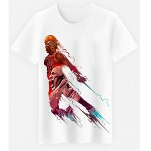 T-shirt garçon blanc manche courte - JORDAN 23