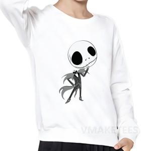 Sweatshirt pour enfant speciale halloween blanc - modele 2