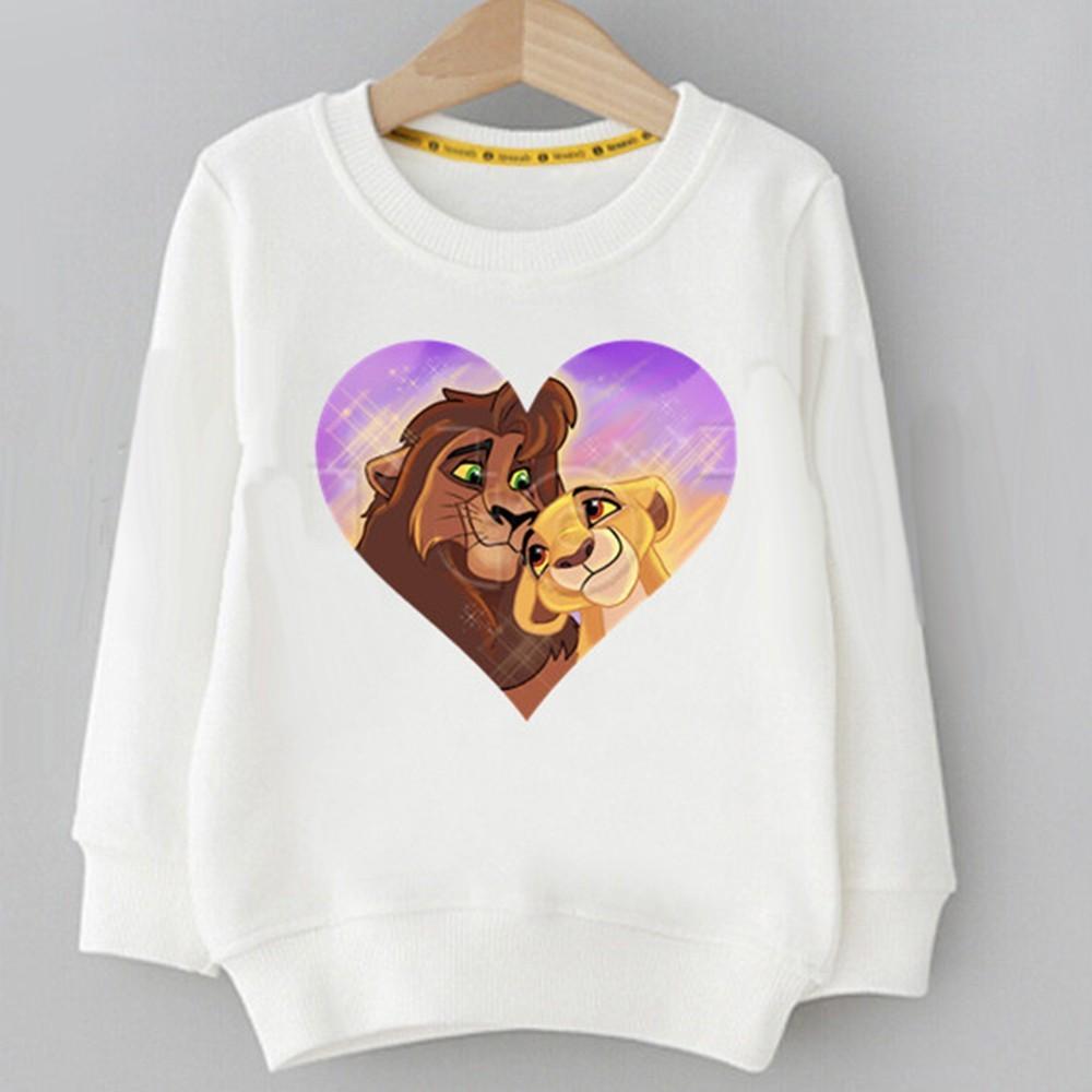 Sweatshirt pour enfant roi lion