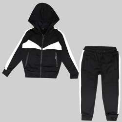 Jogging enfant en molleton integralement zippé - BL-132-5