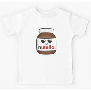 Tshirt 100% coton - Nutella