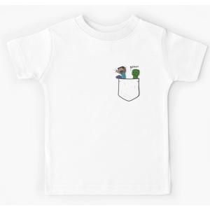 Tshirt 100% coton - Petite plante grimpante de poche