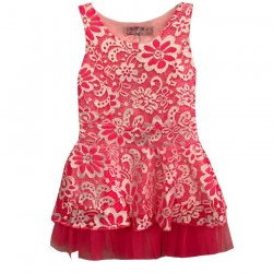 Robe de ceremonie rose - EF-121