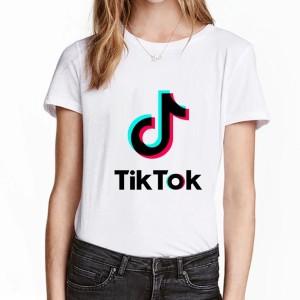 Tshirt fille 100% coton du 4 ans au 12 ans - TIKTOK