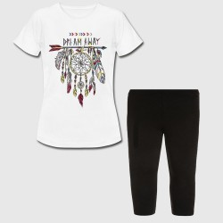 Set Tshirt + legging court pour enfant - DREAM AWAY