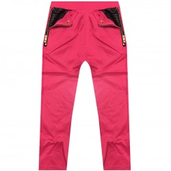 Promo - Bas de survetement poche zip et pression - Fuschia