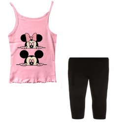Ensemble Débardeur + legging court - MInnie