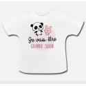 T-shirt Bébé - Future grande sœur - Bientôt grande-sœur
